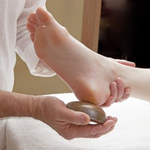 massage pied bol